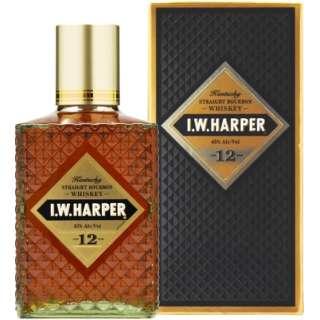 【KIRIN 5%引きクーポン対象商品】 I.W.ハーパー 12年 750ml【ウイスキー】