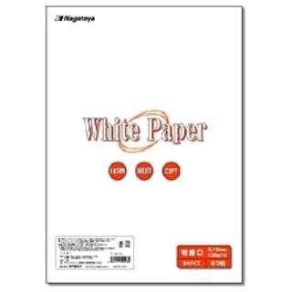 """""""ホワイトペーパー"""" 特厚口 (B4サイズ・50枚) ナ-023"""