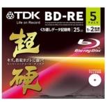 BED25HCPWA5A データ用BD-RE 超硬シリーズ [5枚 /25GB /インクジェットプリンター対応]