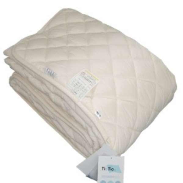 【ベッドパッド】TioTioウォッシャブルベッドパッド(ダブルサイズ/140×200cm)【日本製】