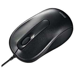MA-116HBK マウス ブラック  [光学式 /3ボタン /USB /有線]