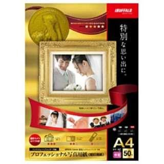 インクジェットプリンター用紙 写真用 印画紙 (A4サイズ・50枚) BSIJP01A450