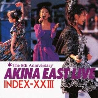 中森明菜/ゴールデン☆ベスト 中森明菜 AKINA EAST LIVE INDEX-XXIII 【CD】