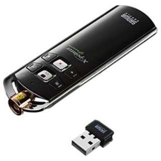 MA-WPR4LP プレゼンテーションマウス グリーンレーザーポインター付  [レーザー /6ボタン /USB /無線(ワイヤレス)]