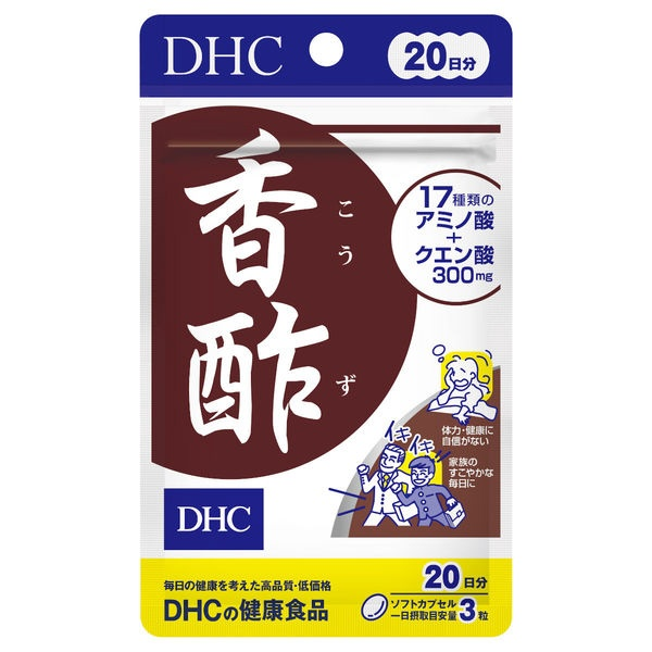 DHC DHC 香酢 20日分 60粒入