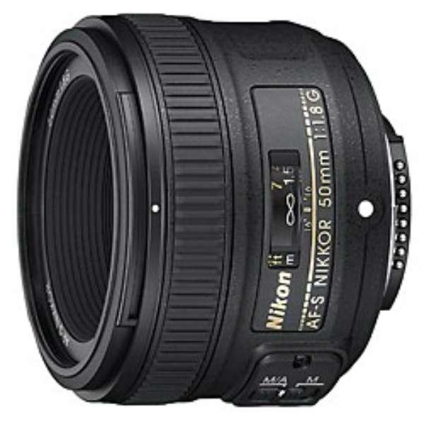 カメラレンズ AF-S NIKKOR 50mm f/1.8G NIKKOR(ニッコール) ブラック [ニコンF /単焦点レンズ]