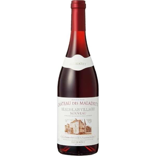 シャトー・デ・マラドレ ボージョレ・ヴィラージュ・ヌーヴォー 2020 750ml【赤ワイン】