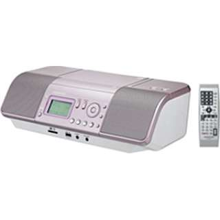 CDラジオ CLX-30 ピンク