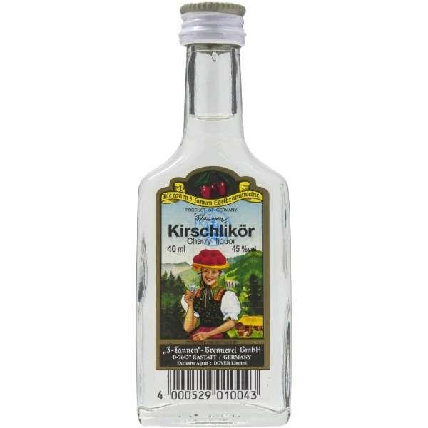 3タンネン キルシュ ミニチュアボトル 40ml【ブランデー】