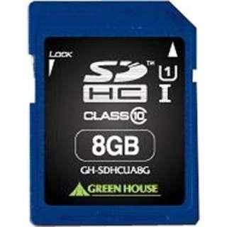 SDHCカード GH-SDHCUAシリーズ GH-SDHCUA8G? [8GB /Class10]
