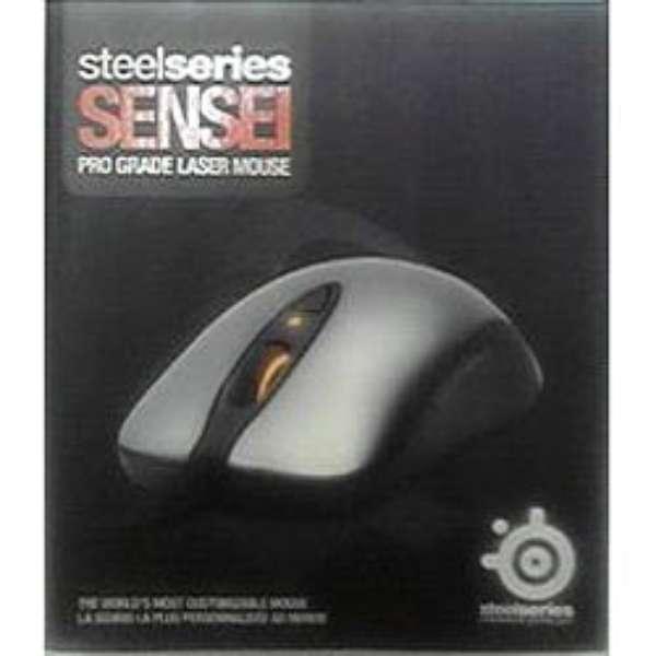 62150 ゲーミングマウス SteelSeries Sensei  [レーザー /8ボタン /USB /有線]