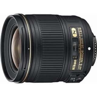 カメラレンズ AF-S NIKKOR 28mm f/1.8G NIKKOR(ニッコール) ブラック [ニコンF /単焦点レンズ]