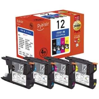 PLE-BR124P 互換プリンターインク 4色パック