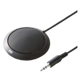 MM-MC23 PCマイク フラット型 [φ3.5mmミニプラグ]