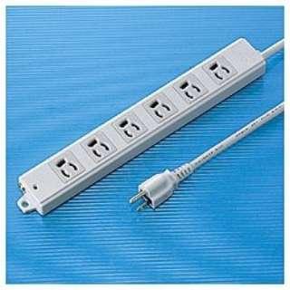 工事物件タップ (3ピン式・6個口・3.0m) TAP-KE6-3