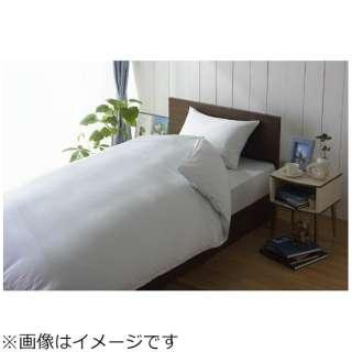【ワンタッチシーツ】80サテン セミダブルサイズ(綿100%/125×215cm/ブルー)【日本製】