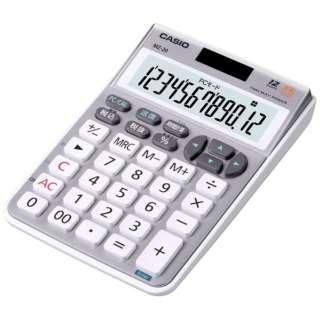 テンキー電卓 ブリリアント・シルバー MZ-20-SR-N [12桁]