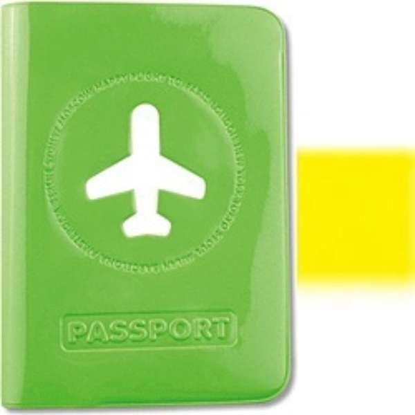 ALIFE ハッピーフライト パスポートカバー SNCF-012-5 イエロー