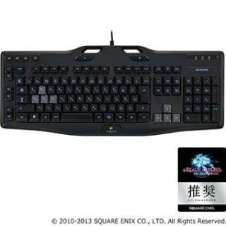 G105 ゲーミングキーボード ブラック [USB /コード ]