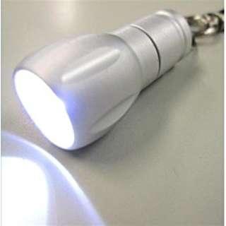 LK06SV アルミミニキーライト シルバー [LED /ボタン電池]