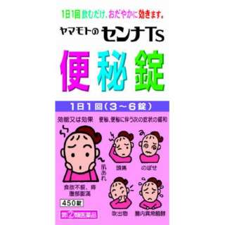 【第(2)類医薬品】 センナTs便秘錠(450錠)〔便秘薬〕