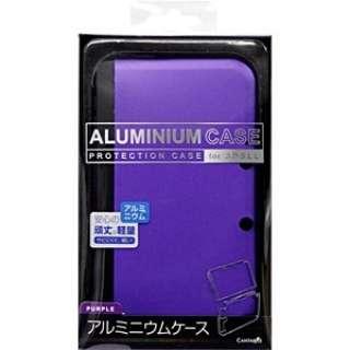 3DSLL用アルミニウムケースパープル【3DSLL】