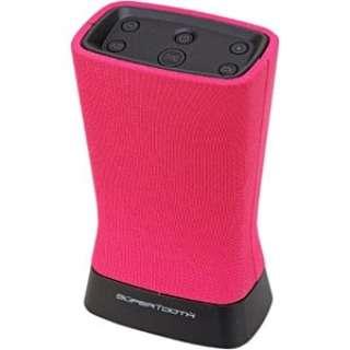 SUP-1219 ブルートゥース スピーカー ピンク [Bluetooth対応]