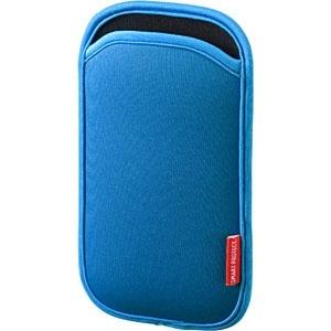 サンワサプライ マルチスマートフォンケース 5インチ用 PDA-SPC9BL 1個