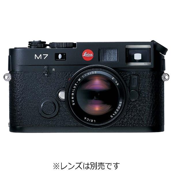 ライカ M7 Engrave 0.72 [ブラッククローム]