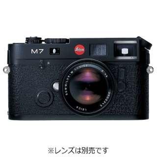 LEICA M7 Engrave 0.72 レンジファインダーカメラ ブラッククローム [ボディ単体]