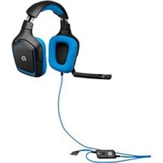 G430 ヘッドセット ブラック[USB /両耳 /ヘッドバンドタイプ]