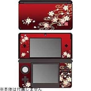 彩装飾シート 流水に桜【3DS】
