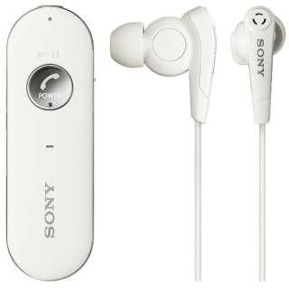 ブルートゥースイヤホン カナル型 ホワイト MDR-EX31BNW [リモコン・マイク対応 /ワイヤレス(左右コード) /Bluetooth /ノイズキャンセリング対応]