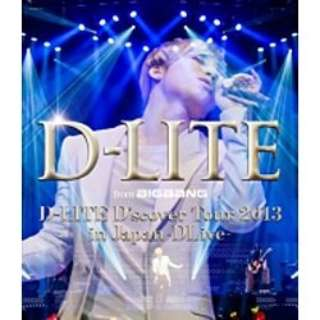D-LITE(from BIGBANG)/D-LITE D'scover Tour 2013 in Japan ~DLive~ 【ブルーレイ ソフト】