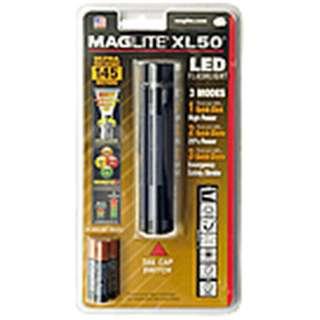 XL50-S3016 懐中電灯 マグライト ブラック [LED /単4乾電池×3]