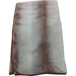 【敷毛布】オーロラプリントアクリル シングルサイズ(100×200cm/ベージュ)【日本製】