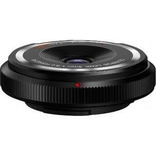 カメラレンズ フィッシュアイボディーキャップレンズ ブラック BCL-0980-BLK [マイクロフォーサーズ /単焦点レンズ]
