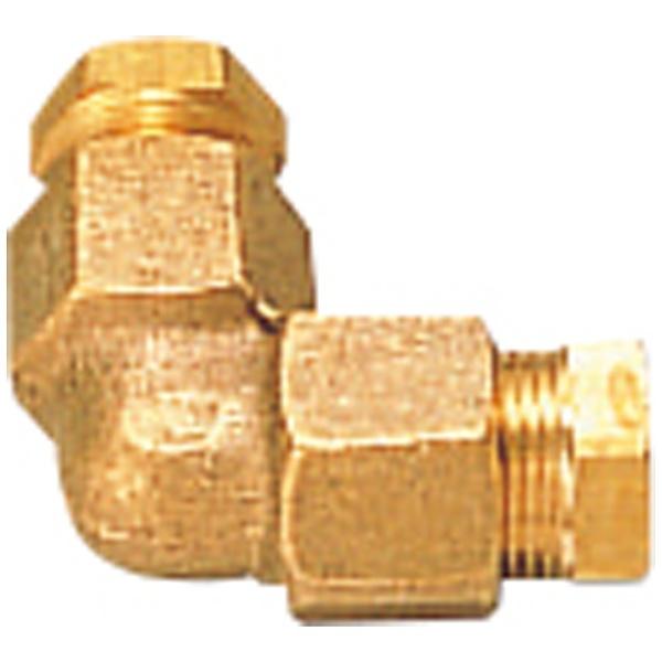 コロナ L形継手 φ8銅パイプ接続用 O-3
