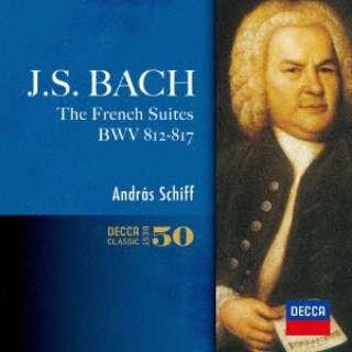 アンドラーシュ・シフ(p)/ J.S.バッハ:フランス組曲 全曲 イタリア協奏曲 他 【CD】