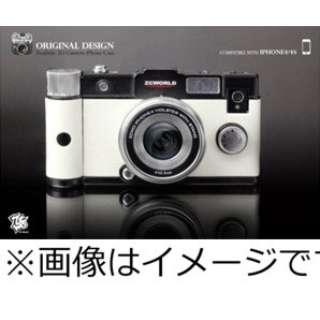 Camera iPhone4/4S Case B-WH