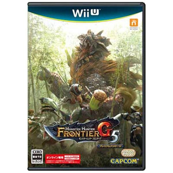 モンスターハンター フロンティア G5 プレミアムパッケージ [Wii U]
