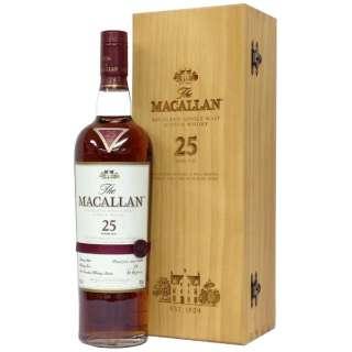 ザ・マッカラン 25年 700ml【ウイスキー】