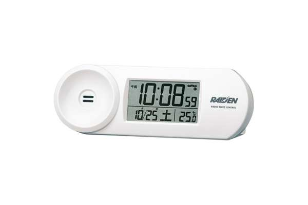 目覚まし時計おすすめ18選 セイコー 「ライデン (RAIDEN)」 NR532