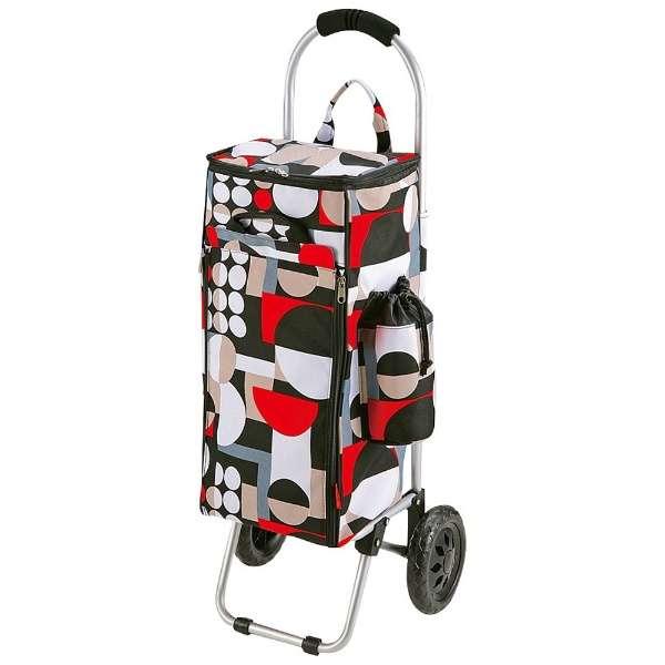 ライフ 楽々アルミショッピングカート 保冷バッグ付  (サークル) MK-2444