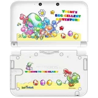 ボディカバーコレクション for ニンテンドー3DS LL ヨッシーNEWアイランド TYPE-B【3DS LL】