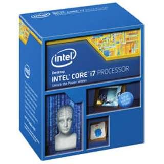 Core i7 - 4790K BOX品 BX80646I74790K ※対応BIOS以外は起動できません。 [CPU]