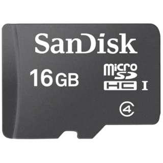 microSDHCカード スタンダードシリーズ SDSDQ-016G-J35U [16GB /Class4]