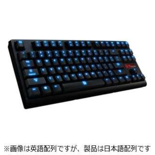 KB-PZX-KLBLJP-01 ゲーミングキーボード Poseidon ZX Tt eSPORTS ブラック [USB /コード ]