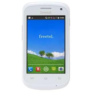 [LTE非対応]SIMフリースマートフォン 「freetel Priori(フリーテル プリオリ)」 FT132A_PR_WH (ホワイト)