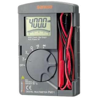 ポケット型デジタルマルチメータ PM11